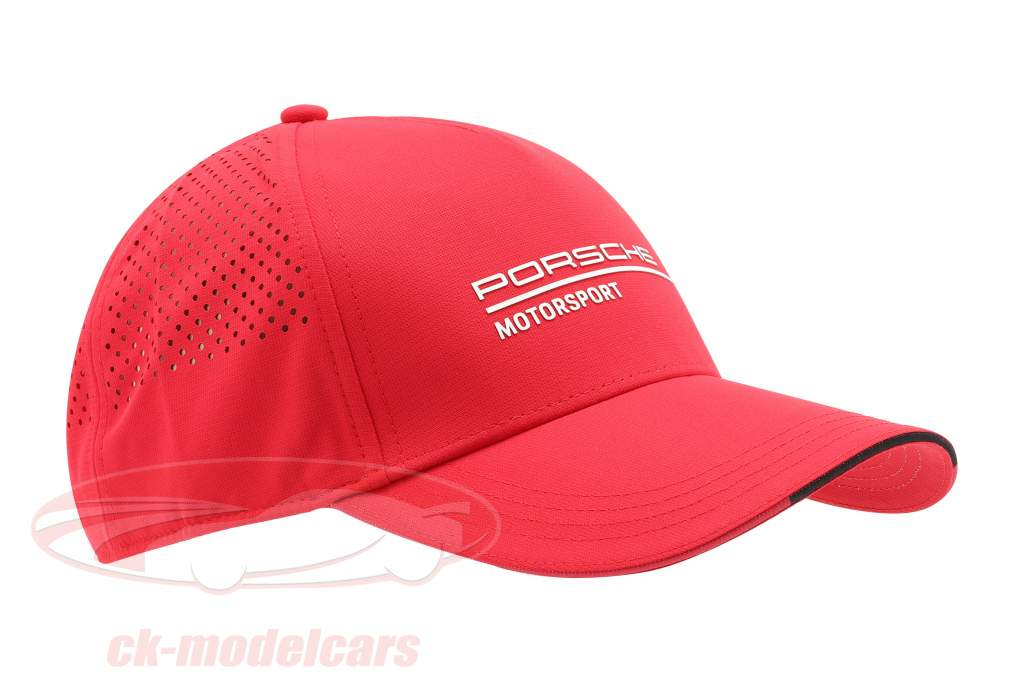 Porsche Motorsport logo Casquette rouge