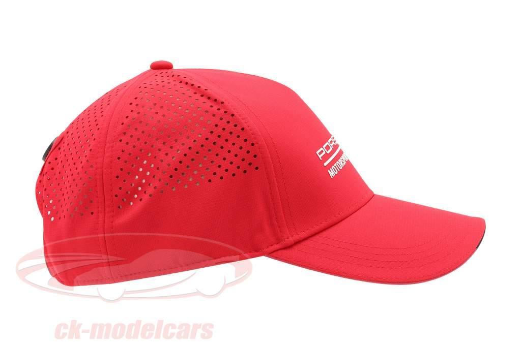 Porsche Motorsport logo Kasket Rød