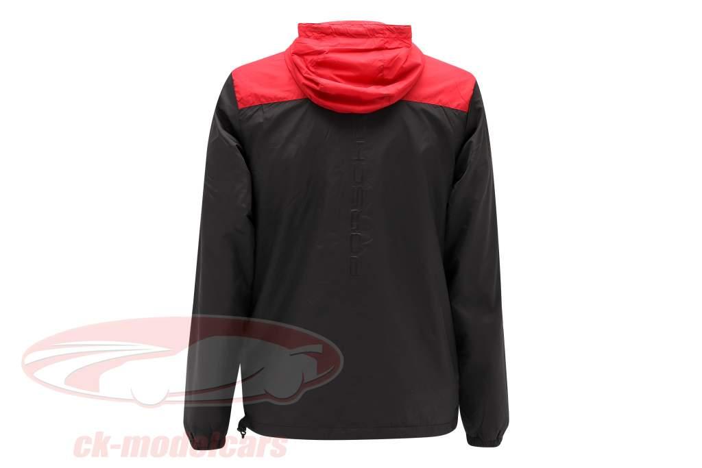 Rompevientos Porsche Motorsport 2021 logo negro / rojo / blanco