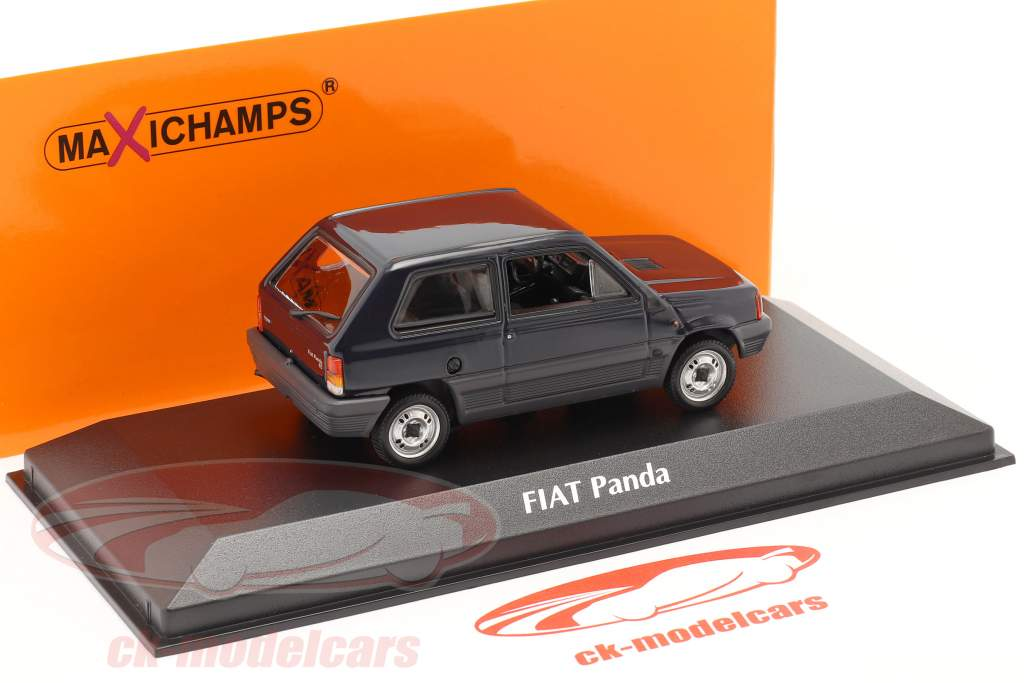 Fiat Panda Baujahr 1980 blau 1:43 Minichamps