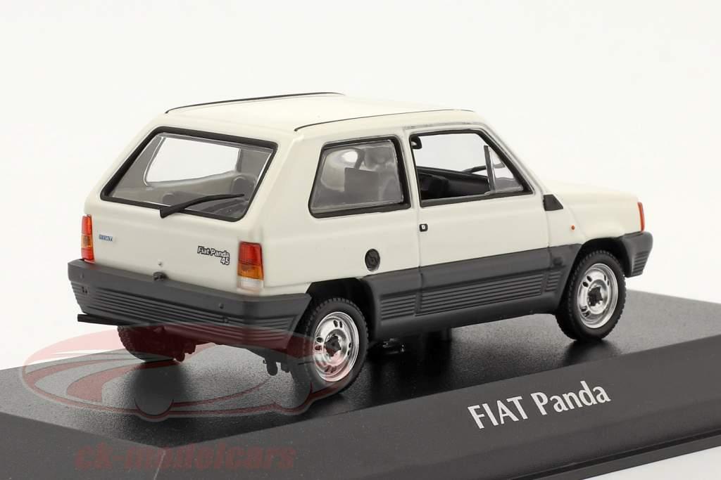 Fiat Panda Año de construcción 1980 crema blanco / gris 1:43 Minichamps
