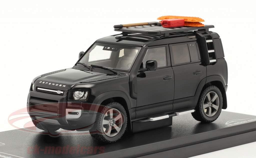 Land Rover Defender 110 year 2020 santorini black 1:43 Almost Real