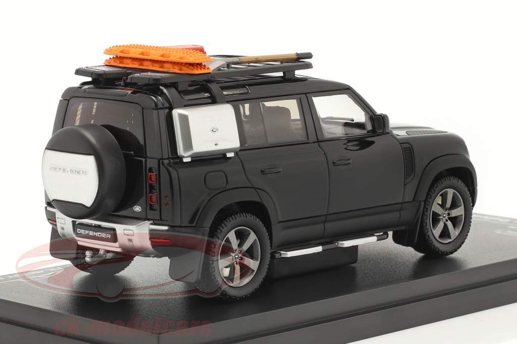 Land Rover Defender 110 Baujahr 2020 santorini schwarz 1:43 Almost Real