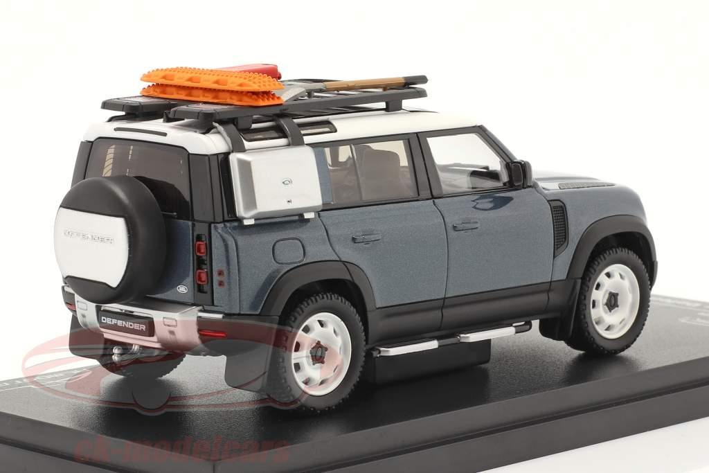 Land Rover Defender 110 Año de construcción 2020 tasman azul 1:43 Almost Real