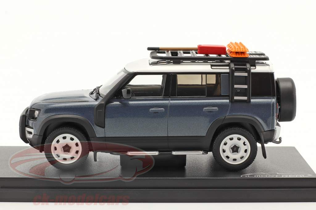 Land Rover Defender 110 Baujahr 2020 tasman blau 1:43 Almost Real