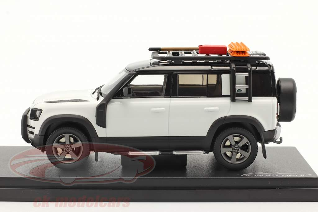 Land Rover Defender 110 year 2020 fuji white 1:43 Almost Real