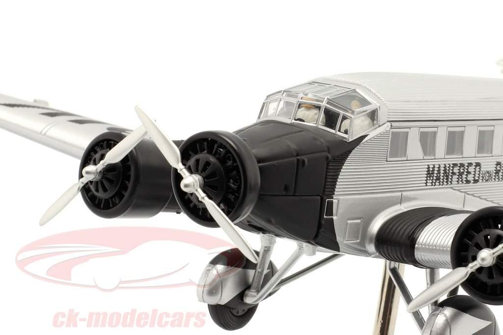 Junkers Ju52/3m fly 1932-52 M. von Richthofen sølv / sort 1:72 Schuco