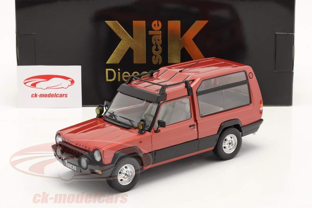 Talbot Matra Rancho X Baujahr 1977-83 rot metallic 1:18 KK-Scale