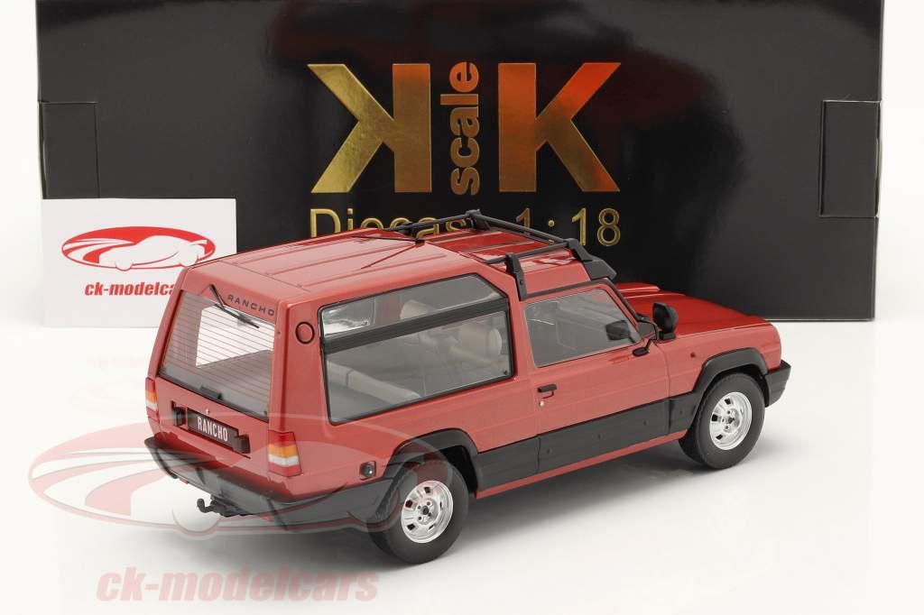 Talbot Matra Rancho X Byggeår 1977-83 Rød metallisk 1:18 KK-Scale