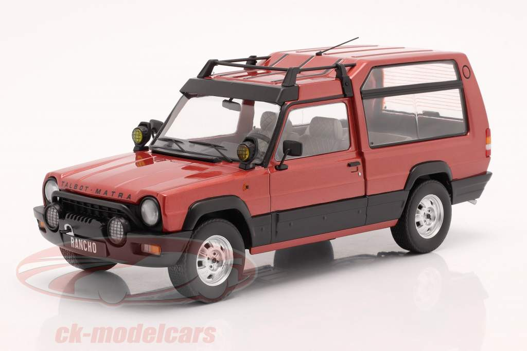 Talbot Matra Rancho X year 1977-83 red metallic 1:18 KK-Scale