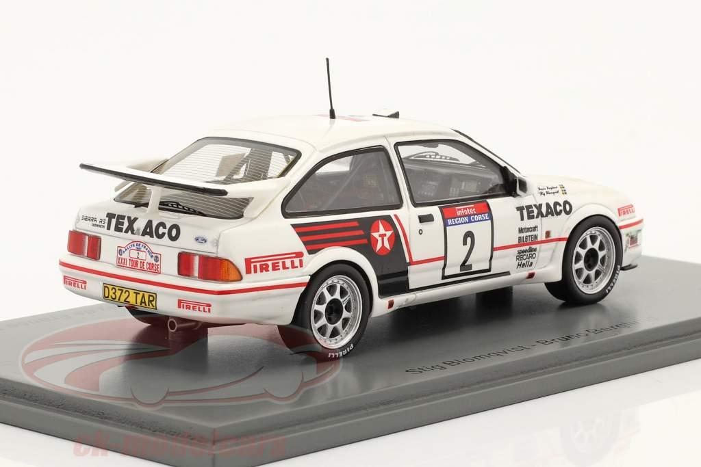 Ford Sierra RS Cosworth #2 Rallye Tour de Corse 1987 1:43 Spark