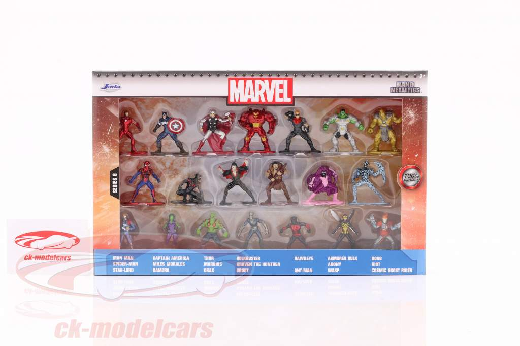 Marvel Set 20 Figuren Serie 6 Jada Toys