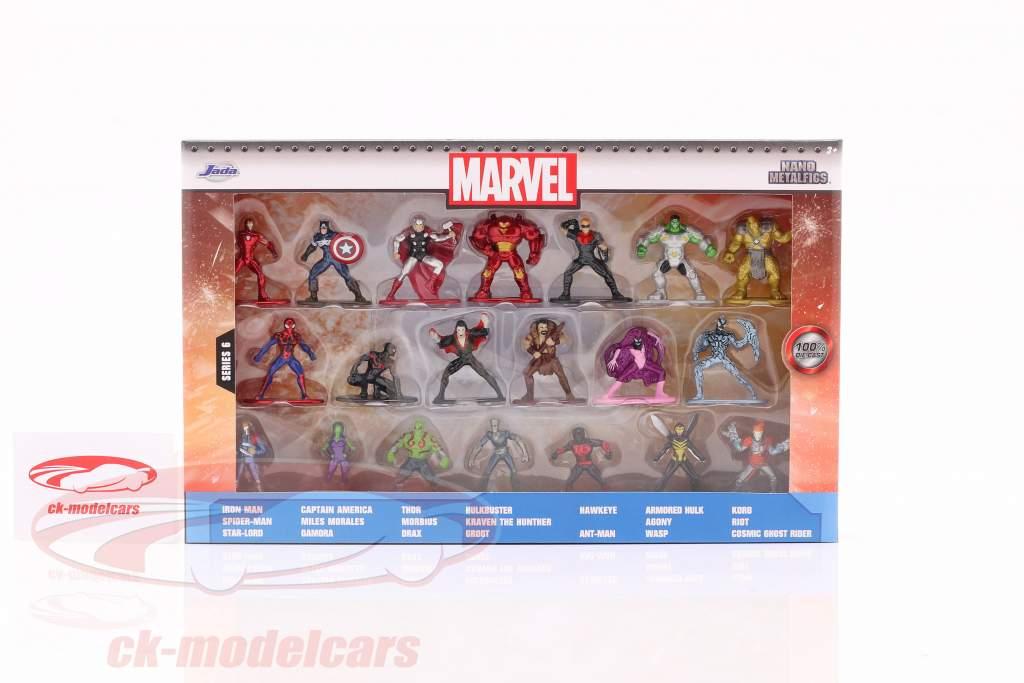 Marvel Set 20 tegn serie 6 Jada Toys