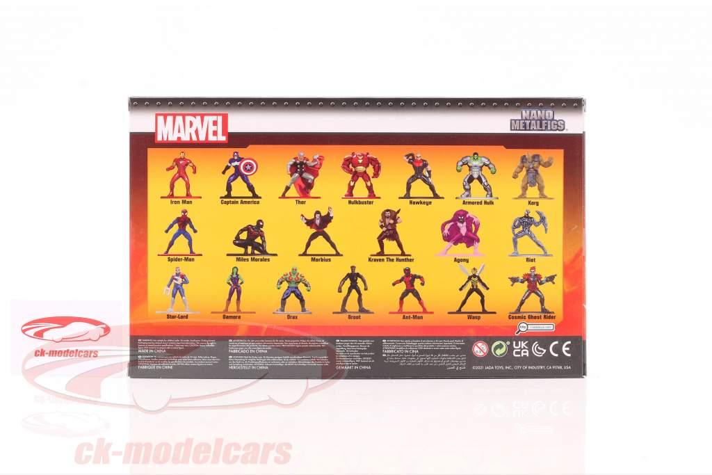 Marvel Set 20 personnages séries 6 Jada Toys