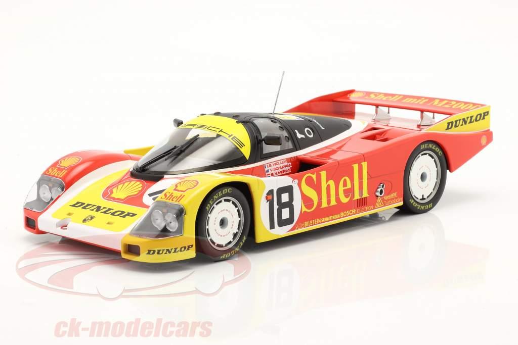 Porsche 962C #18 24h LeMans 1988 Porsche AG 1:18 Norev