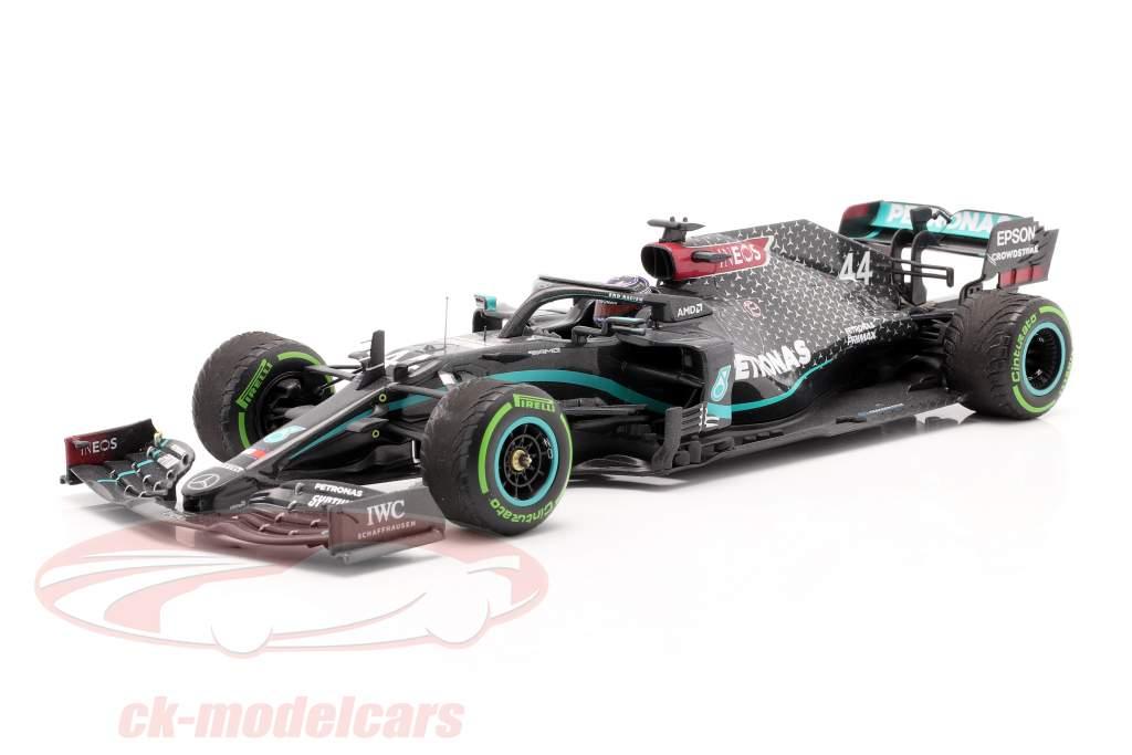 L. Hamilton Mercedes-AMG F1 W11 #44 Sieger Türkei GP Formel 1 Weltmeister 2020 1:18 Minichamps