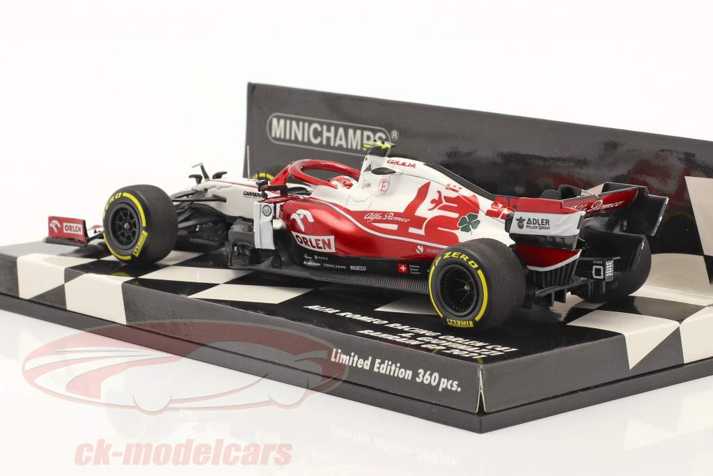 A. Giovinazzi Alfa Romeo Racing C41 #99 Bahrain GP formel 1 2021 1:43 Minichamps