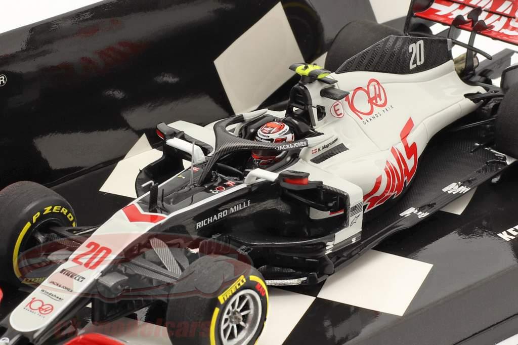 Kevin Magnussen Haas VF-20 #20 Abou Dabi GP formule 1 2020 1:43 Minichamps