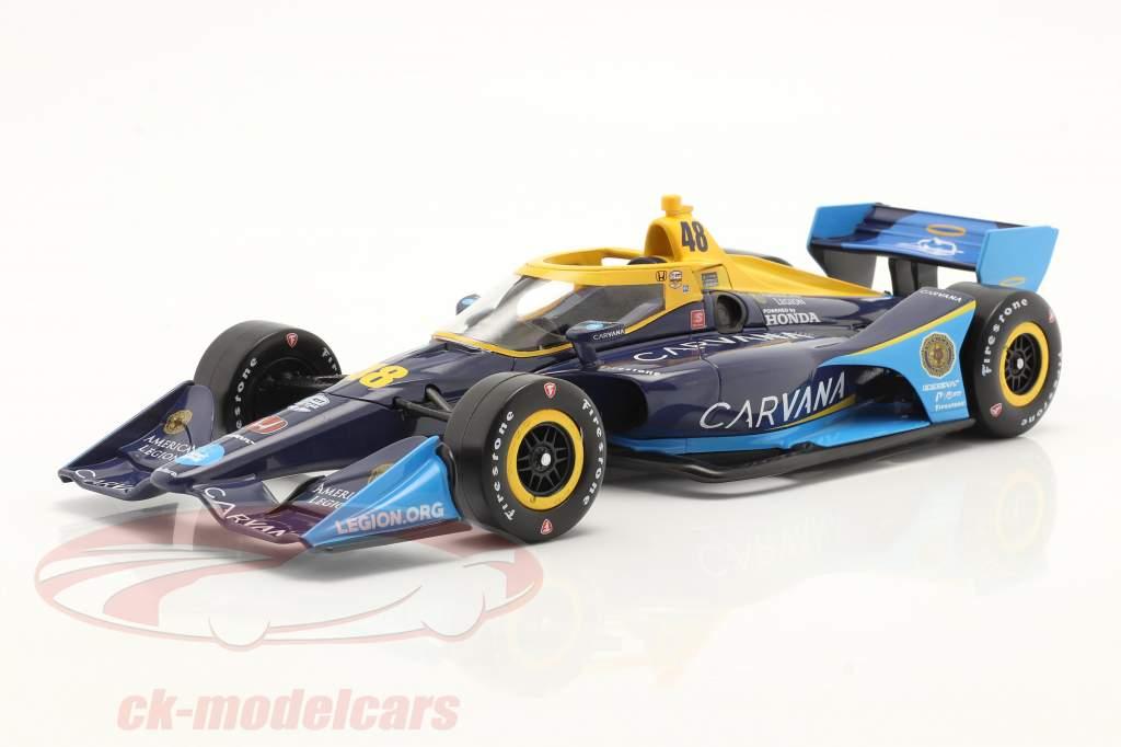 Jimmie Johnson Honda #48 IndyCar Series 2021 1:18 Greenlight