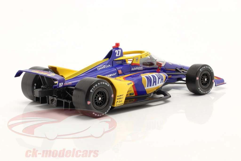 Alexander Rossi Honda #27 IndyCar Series 2021 1:18 Greenlight
