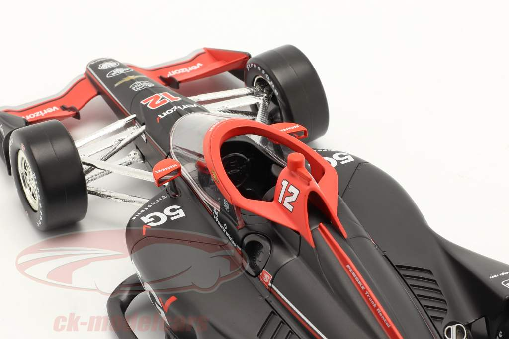 Will Power Chevrolet #12 IndyCar Series 2021 1:18 Greenlight