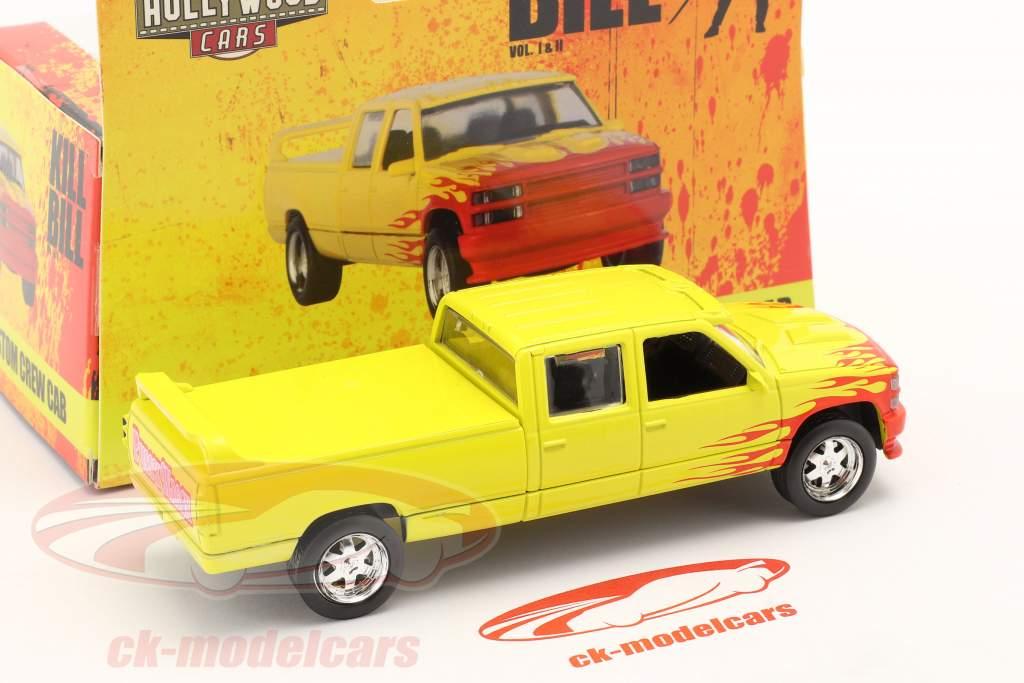 Chevrolet C-2500 Custom Crew Cab 1997 Film Kill Bill (2003) gul 1:43 Greenlight