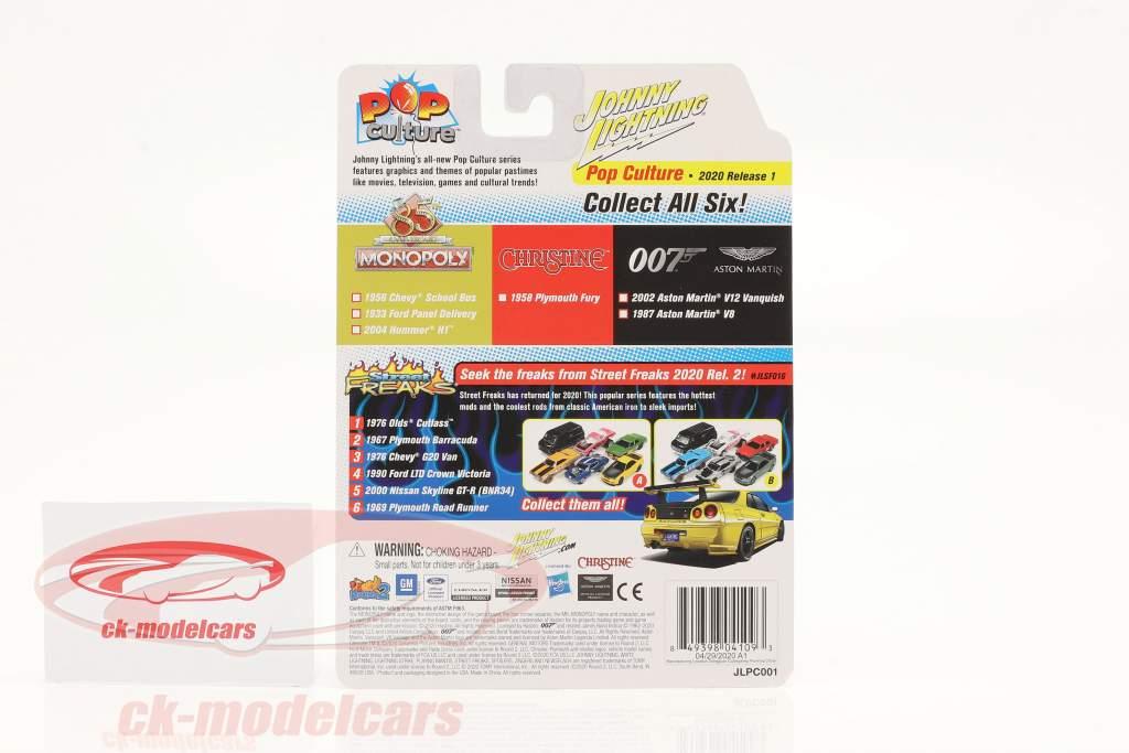 Aston Martin V12 Vanquish 2002 James Bond - Die Another Day 1:64 Johnny Lightning