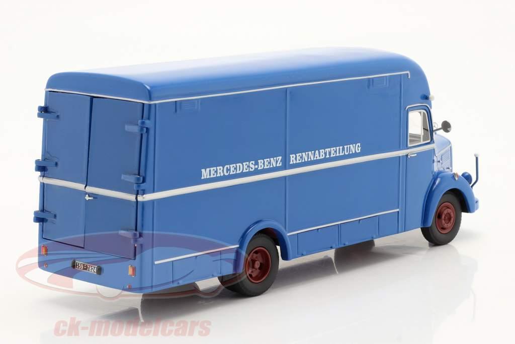 Mercedes-Benz O35000 Département course bleu 1:43 Schuco