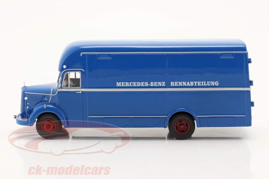 Mercedes-Benz O35000 Racing afdeling blå 1:43 Schuco