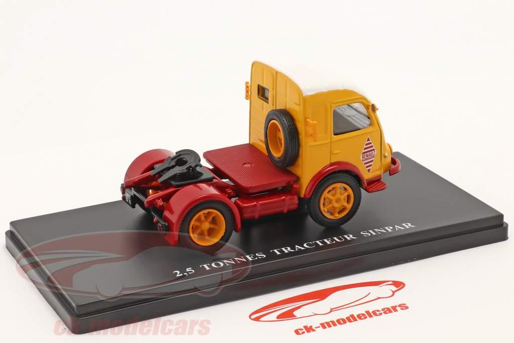 Renault 2,5t Camion Sinpar rouge / jaune / blanche 1:43 Hachette