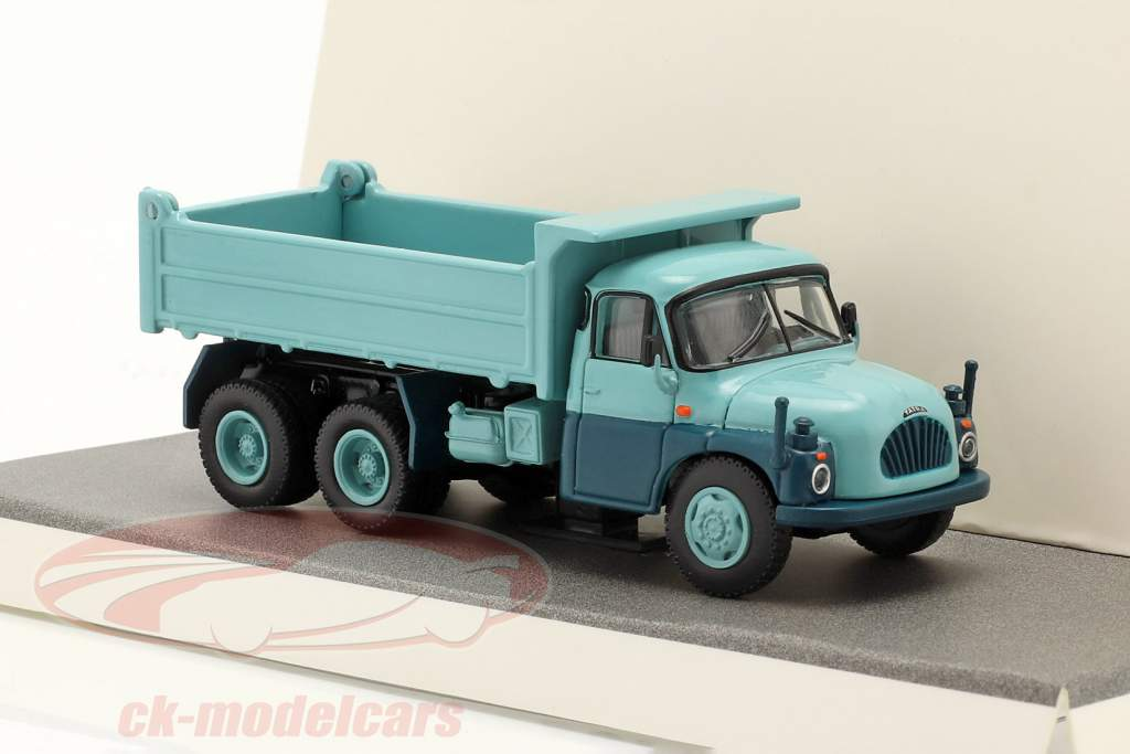 Tatra T138 Tombereau Bleu clair 1:87 Schuco
