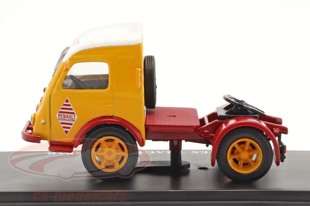 Renault 2,5t Sattelzugmaschine Sinpar rot / gelb / weiß 1:43 Hachette