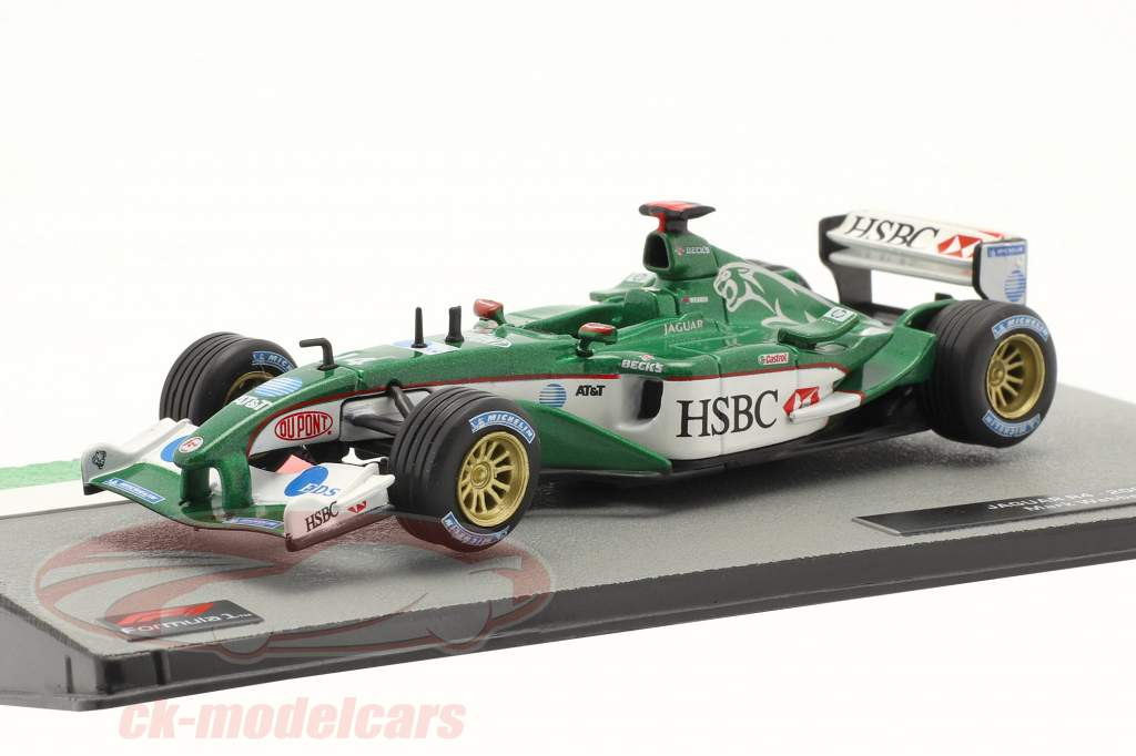 Mark Webber Jaguar R4 #14 formula 1 2003 1:43 Altaya