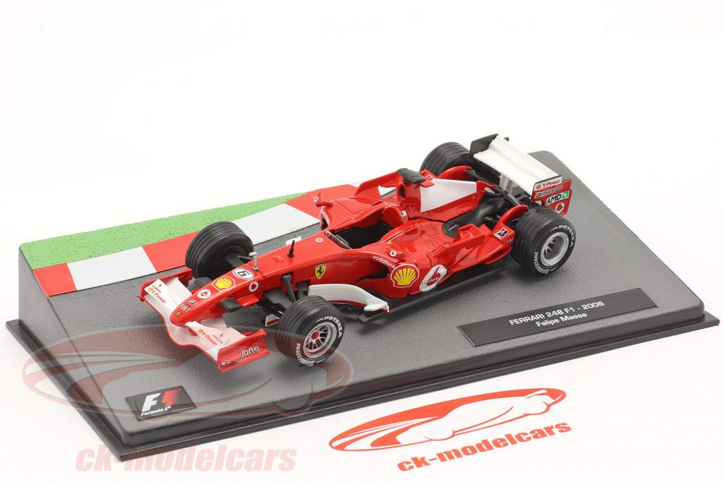 Felipe Massa Ferrari 248 F1 #6 formule 1 2006 1:43 Altaya