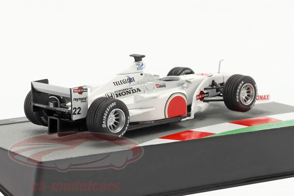 Jacques Villeneuve BAR 002 #22 fórmula 1 2000 1:43 Altaya