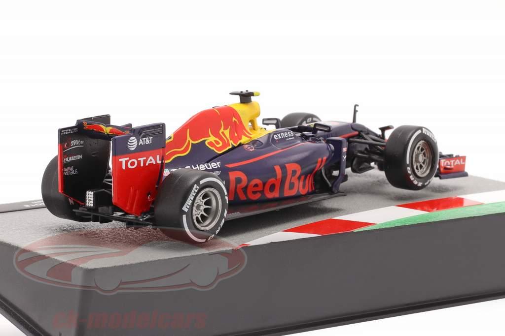 Max Verstappen Red Bull RB12 #33 formule 1 2016 1:43 Altaya