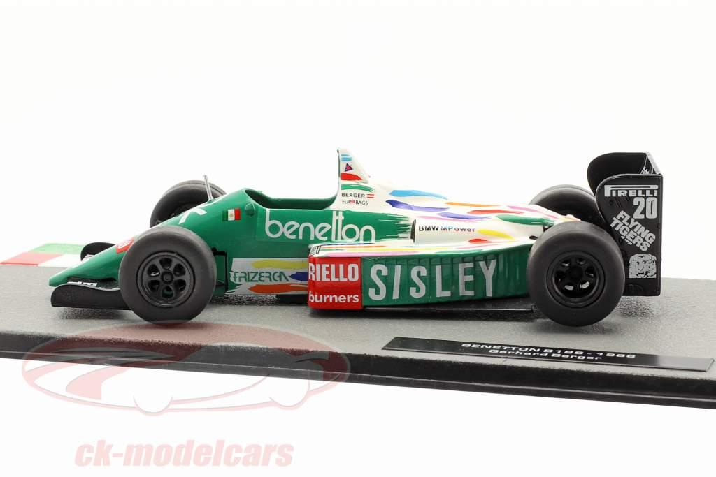 Gerhard Berger Benetton B186 #20 formula 1 1986 1:43 Altaya