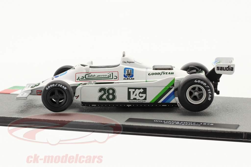 Clay Regazzoni Williams FW07 #28 formule 1 1979 1:43 Altaya