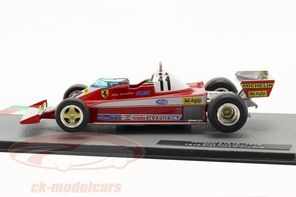 Jody Scheckter Ferrari 312T3 #11 formula 1 World Champion 1979 1:43 Altaya