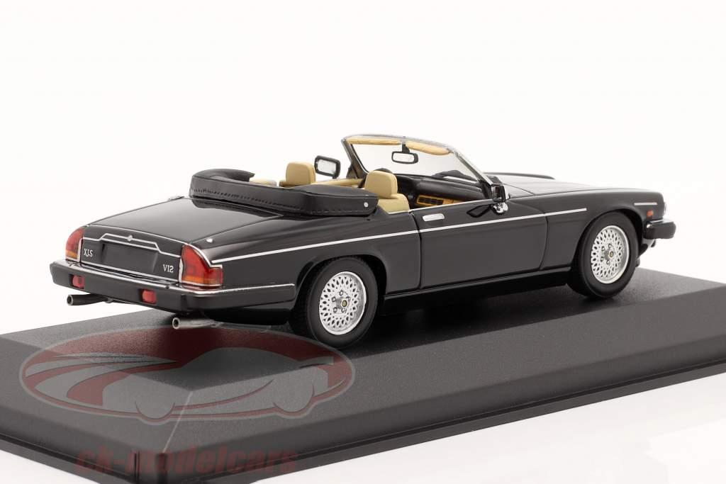 Jaguar XJS Convertible Año de construcción 1988 negro 1:43 Minichamps