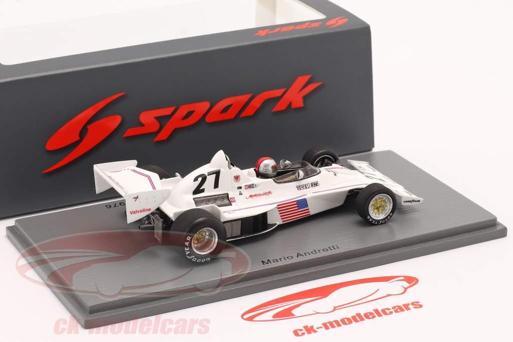 Mario Andretti Parnelli VPJ4 #27 6. Syd afrikansk GP formel 1 1976 1:43 Spark