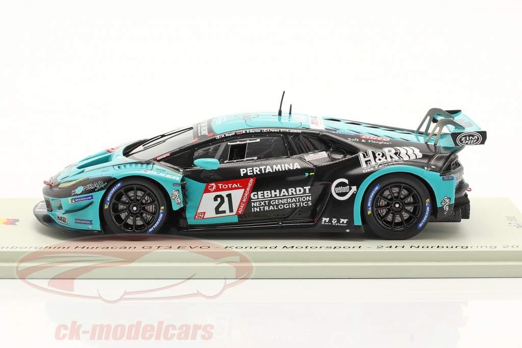 Lamborghini Huracan GT3 Evo #21 24h Nürburgring 2020 Konrad Motorsport 1:43 Spark