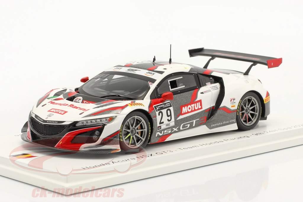 Honda Acura NSX GT3 #29 9. 24h Spa 2020 Honda Racing 1:43 Spark