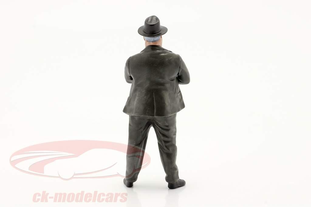 Alfred Neubauer Rennleiter Mercedes-Benz 50er Jahre Figur 1:18 LeMansMiniatures