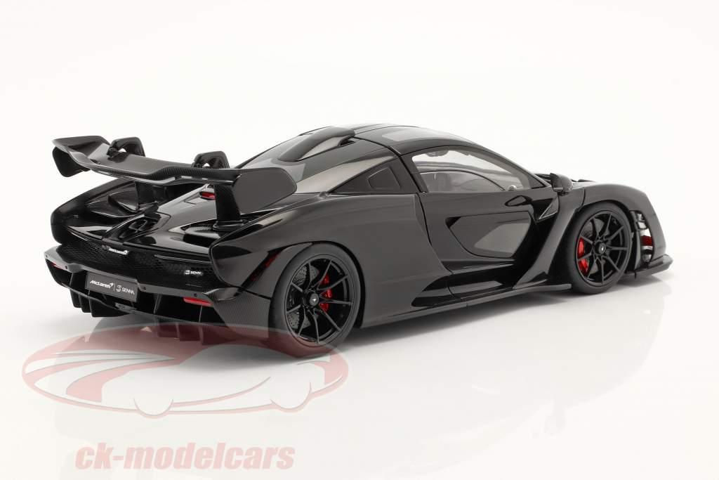 McLaren Senna  year 2018 stealth cosmos black 1:18 AUTOart
