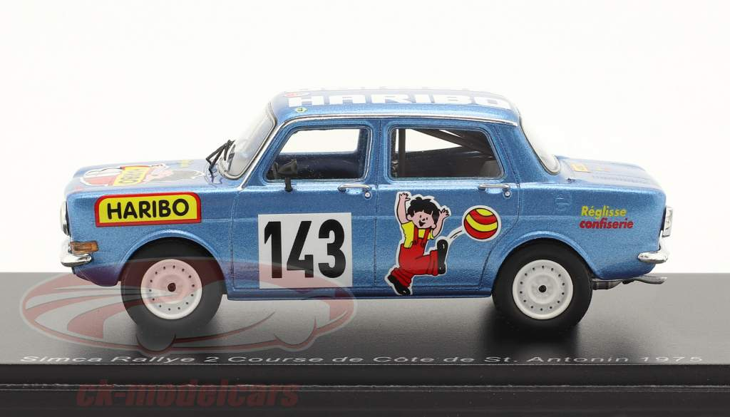 Simca Rally 2 #143 Bergrennen Course de Cote St. Antonin 1975 1:43 Spark