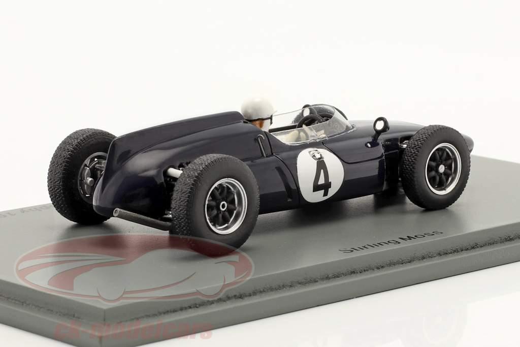 S. Moss Cooper T53 #4 vinder International Trophy Silverstone 1961 1:43 Spark