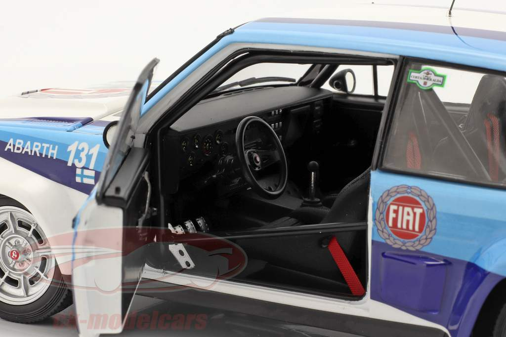 Fiat 131 Abarth #1 Sieger Rallye Costa Smeralda 1981 Alen, Kivimäki 1:18 Kyosho