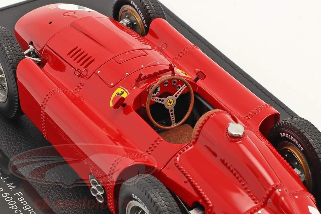 J. M. Fangio Ferrari D50 #1 Vinder Britisk GP F1 Verdensmester 1956 1:18 GP Replicas