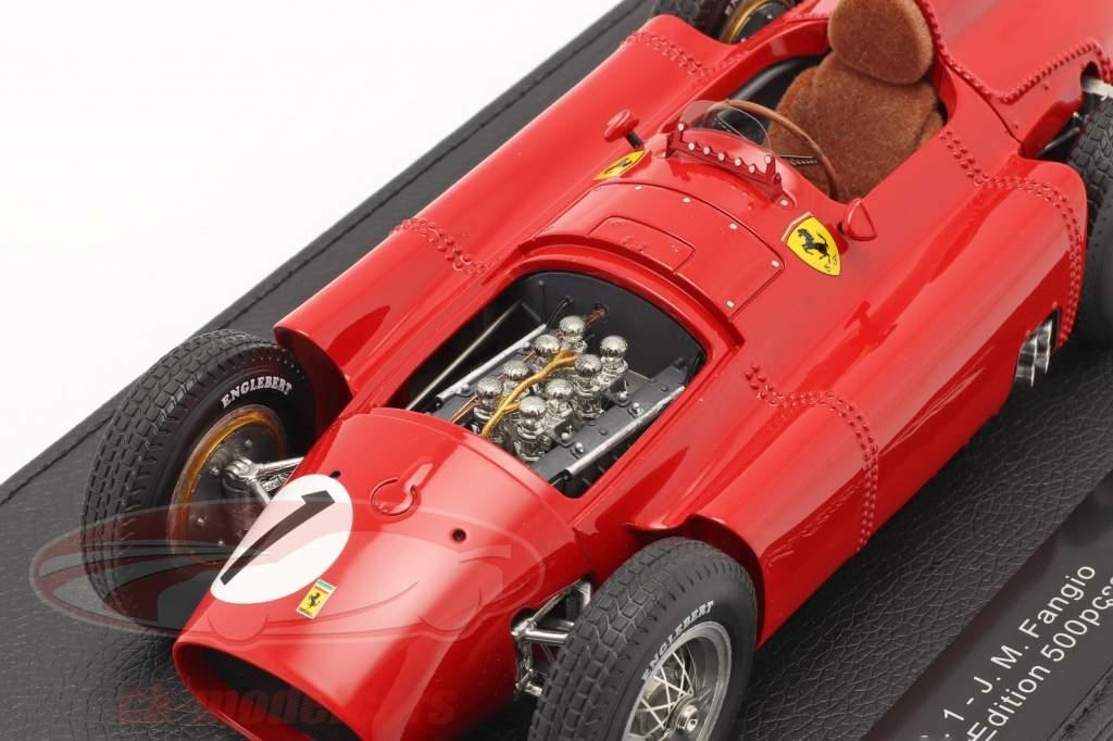 J. M. Fangio Ferrari D50 #1 Gagnant Britanique GP F1 Champion du monde 1956 1:18 GP Replicas